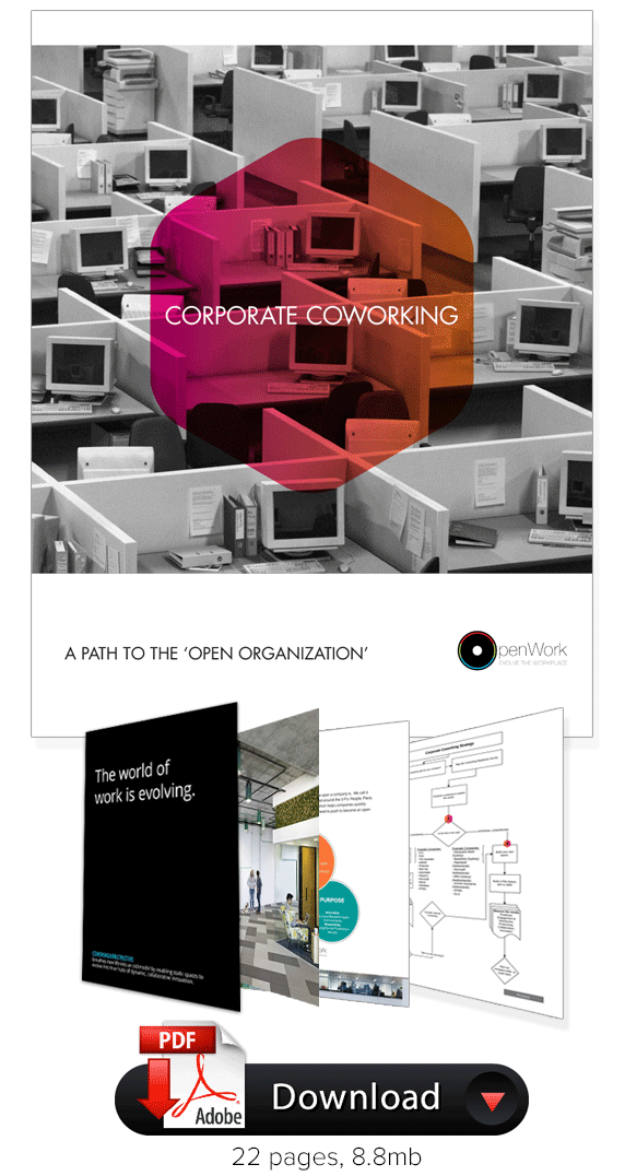 corporate coworking brochure